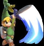 2.3.Minish Cap Toon Link Swinging his Sword