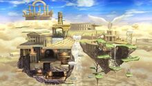 640px-SSB4 Palutena's Temple Stage