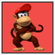 JSSB character preview icon - Diddy Kong