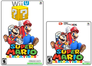 Super Mario Generations Steelbook Cover Art