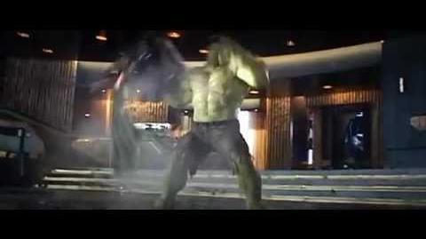 The Avengers - Puny God Scene - Hulk