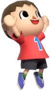 0.3.Red Villager Cheering
