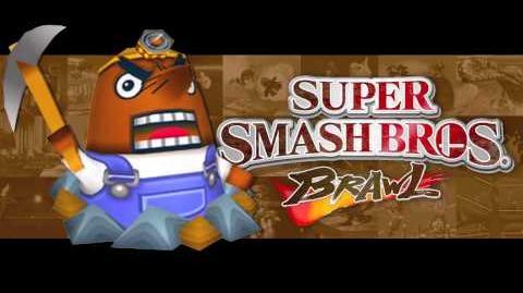 Animal Crossing Title (Super Smash Bros