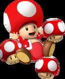 Mushroom Toad SMW3D