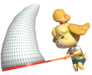 0.17.Isabelle swinging her net