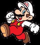 2D Fire Mario