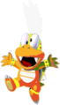 Lemmy Koopa (SMW sprite colors)- New Super Mario Bros. Wii