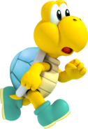 Silver Shelled Koopa Troopa Art