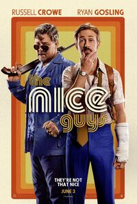 The Nice Guys UK 2016 Poster
