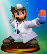 Dr. Mario Trophy (Smash)