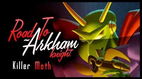 Road to Arkham Knight - Killer Moth LORE (Batman Arkham City)