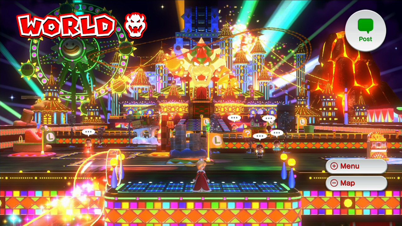 Super Mario 3d World The Great Tower Of Bowser Land