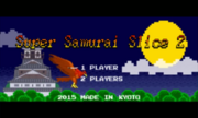 Samurai Slice 2 3DS title