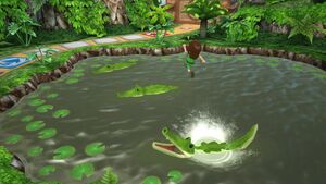 WiiPartyU GamePadIsland