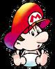 Baby Mario Artwork 1 - Super Mario World 2