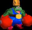 DK64 King K. Rool Boxing