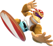 DonkeyKong Country Tropical Freeze - Funky Kong
