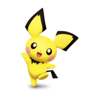 Pichu Smashified by KryptonLion