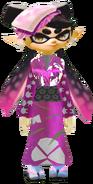 Callie in a Kimono
