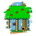 JSSB stage preview icon - Yoshi's House
