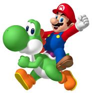 Mario on yoko