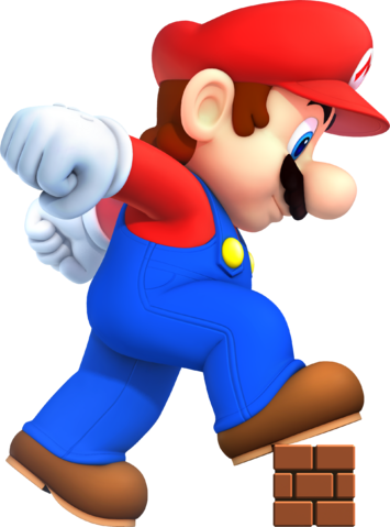 File:NSMB2 Mega Mario.png