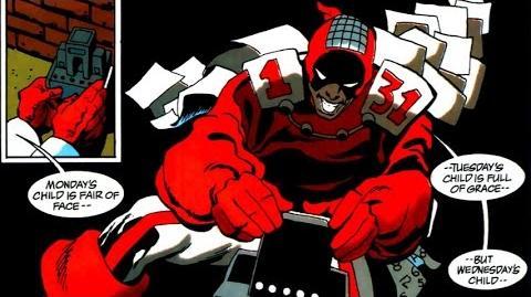 Supervillain Origins Calendar Man