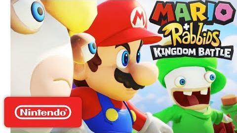 Mario Rabbids Kingdom Battle - Official Game Trailer - Nintendo E3 2017-0