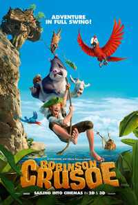 Robinson Crusoe UK 2016 Poster