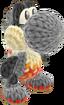 Yoshi's Woolly World design - Flame Yoshi