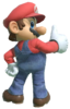 2.Mario giving a thumbs up