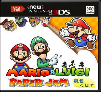 Mario And Luigi Paper Jam Recut Fantendo Nintendo Fanon Wiki