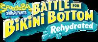 Battle for Bikini Bottom Rehydrated logo