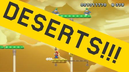 MarioMaker1.7DesertsUpdate