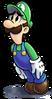 Mario luigi rpg style luigi ssb4 pose by master rainbow-dbdn1p2