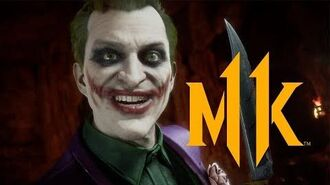 Mortal Kombat 11 Kombat Pack - The Joker Official Gameplay Trailer-0