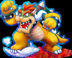 593px-Bowser Artwork - Mario & Luigi Dream Team