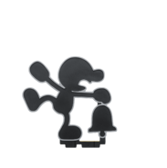 Amiibo MrGame&Watch Pose1