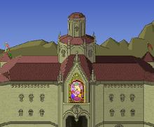 SSBM! Sta- Peach's Castle