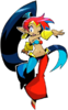 Shantae HGH Switch artwork