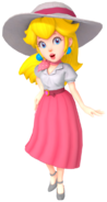 Summer Dress Peach