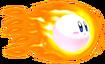 1.Super Fireball Kirby
