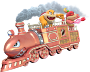 Boom Boom Pom Pom Train - Super Mario 3D World