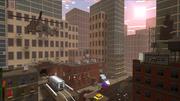 Destroyed megalopolis sniper