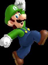 NSMBWii Luigi