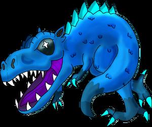 UntensaurusRexPainted