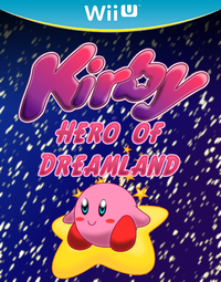 Kirby Hero of Dreamland Boxart