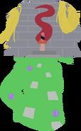 Rapunzel Silhouette