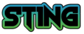 Sting logo black
