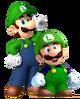 Classic and Modern Luigi
